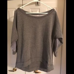 Abercrombie & Fitch Sweatshirt with Sheet Detail